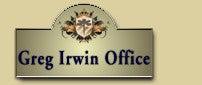 グレッグアーウィンへのお問い合わせはグレッグアーウィンオフィスまで
