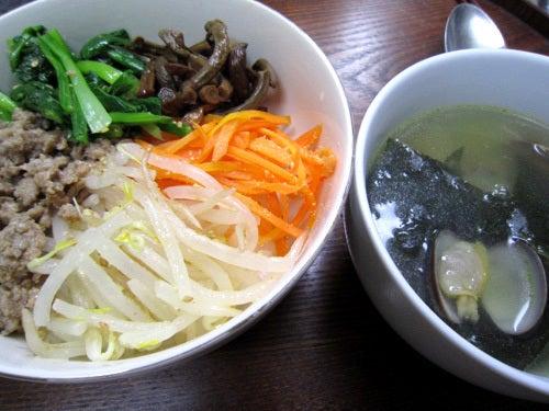 韓国料理サランヘヨ♪ I Love Korean Food-ほんだ家の晩ご飯