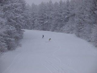 池の平温泉スキー場ゲレンデレポート-10122901