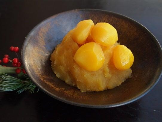 長澤家のレシピブログ-栗きんとん画像