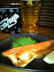 銀座Bar ZEPマスターの独り言-鮭ハラス焼