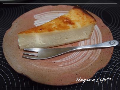 Nagano Life**-チーズケーキ