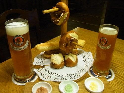 中国大連生活・観光旅行通信**-大連 Paulaner Beer
