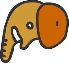 ササブログ-ゾウの横顔