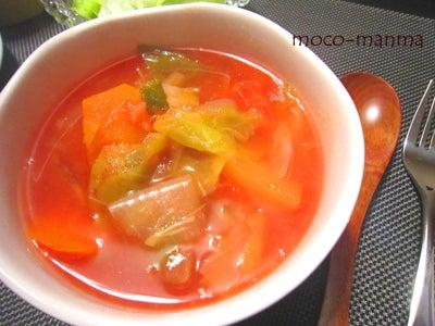 $モコマンマ -簡単お料理レシピとペットと手作り日記-●冬のぷっくり対策!!燃焼ダイエットスープ