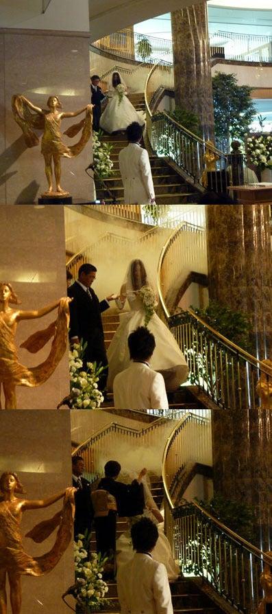 今治国際ホテル ウェディングプランナー日記-ロビー人前式