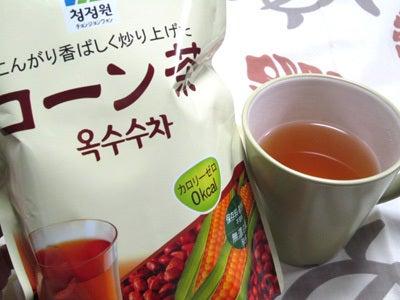 韓国料理サランヘヨ♪ I Love Korean Food-チョンジェウォン コーン茶