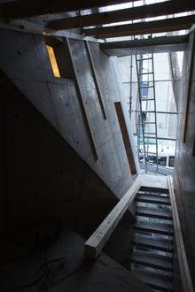 だから構造家は、楽しい。-茨木の家階段室