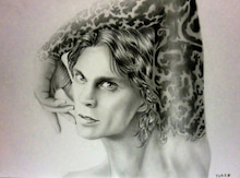 $Ville Valo Drawings -ville valo art