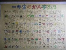 自由研究は・・・漢字表☆ ... : 一年生の漢字表 : 一年生