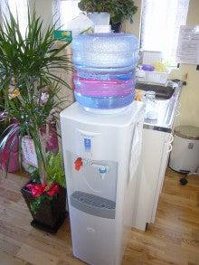 ログハウス・ビルドのブログ-美味しい水