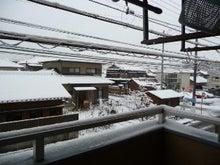 「ひろんぐー」の つぶやき @名古屋-雪