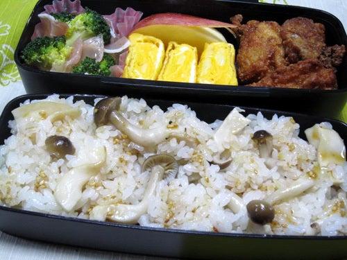 韓国料理サランヘヨ♪ I Love Korean Food-きのこの炊き込みご飯
