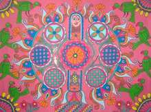 Mithila Art  Womans HEART-「コオバル」