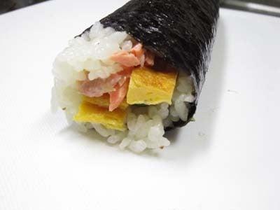 韓国料理サランヘヨ♪ I Love Korean Food-鮭ののり巻き(キムパプ)
