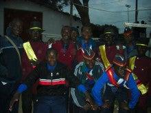 たまザンビアで走る!!!-他のバンドの子たちと2