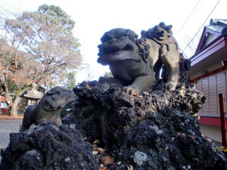 人生オルタナティ部・部活日誌-御嶽神社狛犬