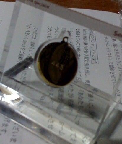 おまけ道@琵琶湖畔で実家生活♪ポテチンっ♪-メダル