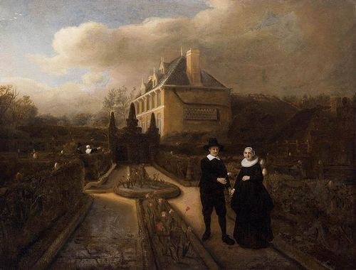 REMOVE-Portrait of Johan Cornelisz Vijgeboom and His Wi