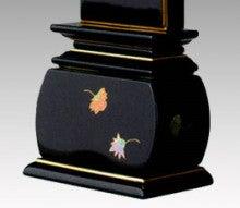 京仏壇はやしのスタッフブログ-蒔絵位牌 天華2