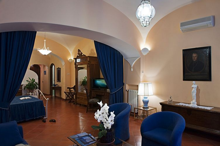 【彼女の恋した南イタリア】 ~ diario-ポジターノのホテル Villa Gabrisa お部屋