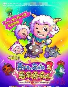 さくらとひでの観察日記 IN 北京-喜羊羊与灰太狼