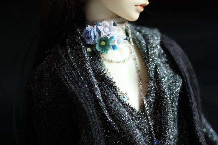 $桃花寨-Turquoise Choker