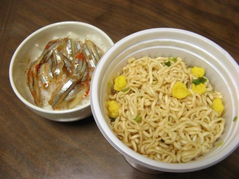 宅ひとりごはん-2/6 昼 金ちゃんヌードル4