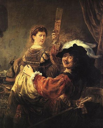 REMOVE-Rembrandt and Saskia