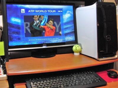 $45歳からの挑戦 オヤジテニス進化論-DELL XPS8100
