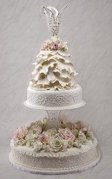 ウエディングケーキ制作