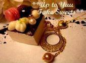 新米作家のフェイクスイーツデコ日記*Up to Yuu Fake Sweets*-カットバウム