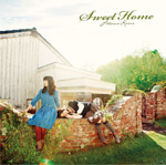 初のオリジナルアルバム「Sweet Home」通常盤