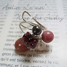 Atelier La mer ~ Wire Art Jewelry Lesson-Atelier La mer Wire Art Joyful 03