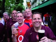 欧州サッカークラブとの仕事を語るブログ-アーセナル1