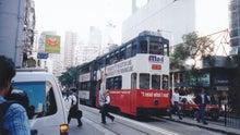 すわこぷ旅ブログ-香港島のトラム