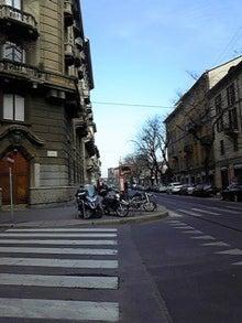 MOO日記-20110122ミラノの町並み