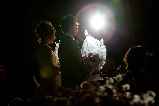 ウエディングカメラマンの裏話*-KKRホテル東京での結婚式の写真