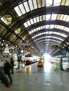 MOO日記-20110122駅のホーム