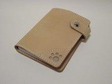 OXIO-CRAFT(オキクラ)の「革雑貨」製作日記-肉球メモカバー