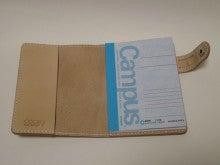 OXIO-CRAFT(オキクラ)の「革雑貨」製作日記-ノートにも使用できます。