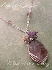 Atelier La mer ~ Wire Art Jewelry Lesson-Atelier La mer Wire Art Besic 01