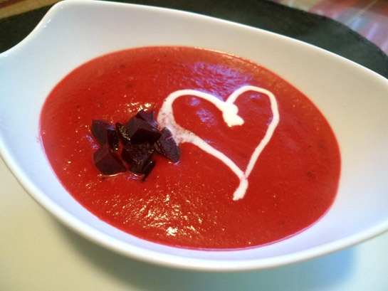 Roasted Beet Soup With Creme Fraiche Recipes — Dishmaps
