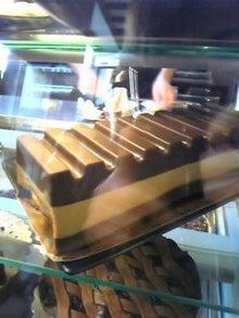 MOO日記-20110122Chocolatカフェのイートイン用チョコケーキ
