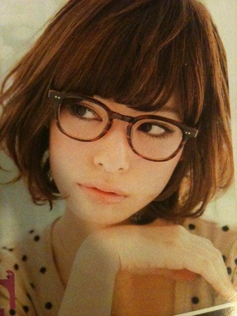 メガネ kazuwoのブログ : 【眼鏡×ボブ】メガネが似合う☆ ...