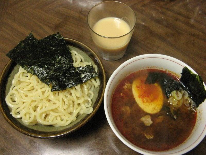 宅ひとりごはん-2/14 昼 つけ麺
