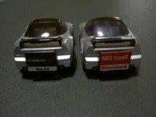 チョロQ☆スタイル-NSX typeR 99 60 rear