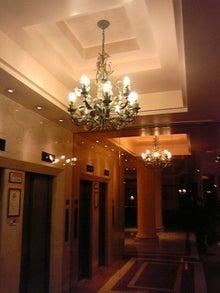 MOO日記-20110122ホテルロビー