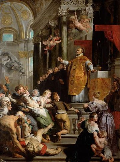 REMOVE-Peter Paul RUBENS, The Miracles of St. Ignatus o