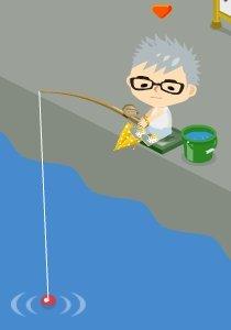 夢仙里のブログ-釣り:待